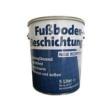 Fußboden Beschichtung Bodenbeschichtung Bodenfarbe Betonfarbe Innen & Außen 5 L