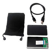 40Pin 1.8'' CE/ZIF auf USB 2.0-Adapter Metallgehäuse Festplattengehäuse .