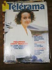 Télérama N° 2048 1989 Philippine Leroyy Beaulieu Jean Jacques Beinex Mozambique