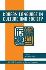 Korean Language in Culture and Society by University of Hawai'i Press (Paperback, 2005)