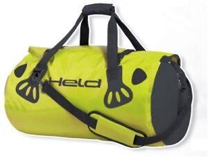 wasserdicht Gepäcktasche CarryBag 60 Liter neongelb Held Gepäckrolle Motorrad