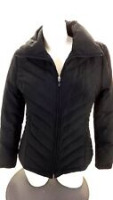 KENNETH COLE REACTION WOMENS BLACK DOWN INSULATED SKI JACKET SIZE S