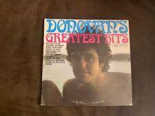 DONOVAN - Greatest Hits - Vinyl LP + Gatefold Book - VG+ 1969 Epic