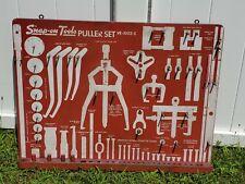 Vintage Snap On Tools Puller Set Display Board VE-1002-S