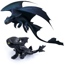 Black Cute Children Kids Gift Toy Dragon Toothless Action figure Birthday Gift