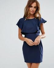 BNWOT ASOS LAYER WIGGLE DRESS WITH ANGEL SLEEVES