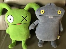 "NEW HASBRO Lot of 2 LARGE Ugly Doll 18"" Plush Stuffed Dolls OX & BABO"