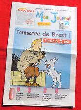 Tintin-Lot journaux mon journal + le soir-Sujets sur Tintin-Tbe(2004)
