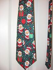 Men's Holiday Necktie - Christmas - Santa