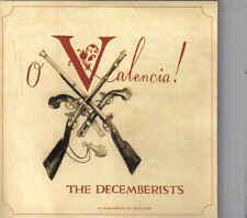 The Decemberists-O Valencia Promo cd single