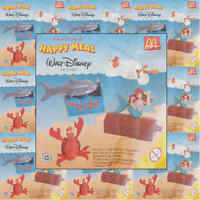 McDonalds Happy Meal Toy 1998 Little Mermaid Movie Figure Toys - Various