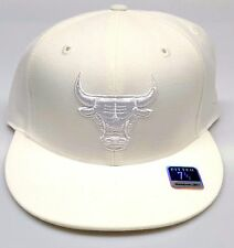 NEW! NBA Chicago Bulls Embroidered Fitted Cap 7 1/2
