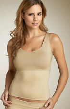 NWT SPANX HIDE & SLEEK SCOOP-NECK SLIMMING CAMI CAMISOLE ~NUDE SIZE XL~ SAVE $15