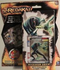 REDAKAI CONQUER THE KAIRU X-DRIVE POWER PACKS & RADIKOR DECK! 175 CARDS TOTAL!!!