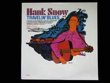 New Sealed HANK SNOW Travelin' Blues Mono LP 1966 CAL-964 Record - Blue Yodel