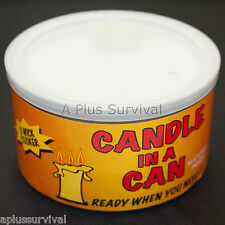 3 Wick Cooker Candle in a Can Emergency Stove Camping Hiking Car Survival Kits