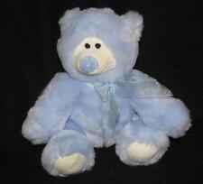 Animal Alley Light Blue Teddy Bear Toys R Us  Plush Soft TRU Toy Stuffed