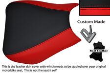 Negro Y Rojo Custom 04-07 encaja Honda Cbr 1000 Rr Fireblade Frontal Rider cubierta de asiento