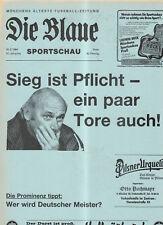 BL 83/84 FC Bayern München - Eintr.Braunschweig (Blaue)
