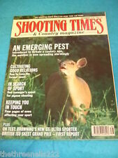 SHOOTING TIMES - THE MUNTJAC - SEPT 19 1991
