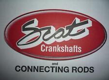 SCAT - Stahlpleuel , H-Schaft 154/21mm + ARP 2000- - Audi RS4 2,7l Biturbo
