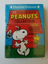 Peanuts Trading Card Collection Preview Edition Set Factory Sealed, ? autograph