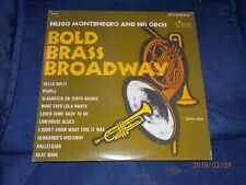 Hugo Montenegro And His Orchestra – Bold Brass Broadway(1964) Time S/2159
