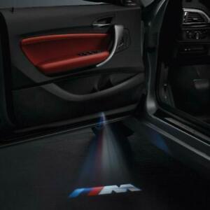 Brand New BMW Genuine LED Door Projectors x 2 - 63312468386