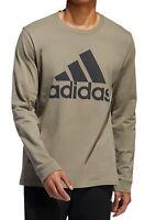Adidas Mens T-Shirt Sage Green Size 2XL Logo Amplifier Tee Crewneck $30 058