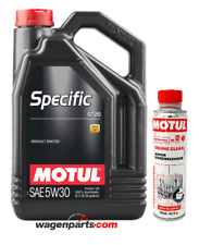 Aceite Motul Specific RN0720 5W30 Renault motor FAP, pack 5 Lts Engine Clean