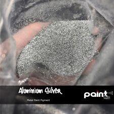 ALUMINIUM SILVER METAL FLAKE Paint pigment - Neon - Hydrographics - Automotive