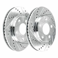 STOPTECH SPORTSTOP SLOTTED FRONT BRAKE DISC ROTORS FOR 1969 1970 FORD FAIRLANE