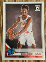 2019-20 Donruss Optic Cam Reddish Rated Rookie RC #170 Atlanta Hawks