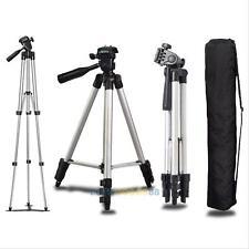 Flexible Portable Aluminum Tripod Stand With Bag For Canon Nikon DSLR Camera New