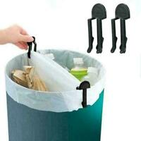 1pcs Home Practical Garbage Can Waste Bin Trash Can Lock Clip Bag Holder P0 F0T3