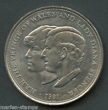 GREAT BRITAIN 1981 ROYAL WEDDING  PRINCESS DIANA CROWN YOU DO THE GRADING