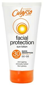 Calypso Facial Protection Sun Lotion | Protect & Moisturise | SPF30 | High UVA