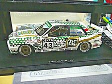 BMW M3 3er E30 DTM 1991 Tic Tac TNT Berg #43 Team Tauber S-Preis AUTOart 1:18
