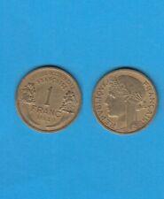 ° Afrique Occidentale Française 1 Franc 1944 en Bronze-Aluminium