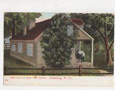 Birth Place Stone Wall Jackson Clarksburg W Va Vintage USA Postcard 509a