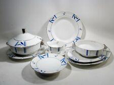 Art Deco Primavera Limoges Porcelain Printemps Atelier 8 Serving Pcs Lanternier