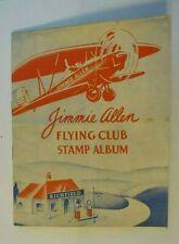 Jimmie Allen Flying Club Stamp Album RICHLUBE Richfield Motor Oil Advertiser