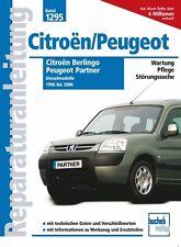 Citroen Berlingo Peugeot Partner Diesel Reparaturbuch Jetzt helfe ich mir selbst