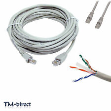 15M Gigabit CAT 6e Ethernet Network RJ45 LAN Lead Cable