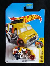2017 Hot Wheels COOL ONE KMART YELLOW on US CARD BNIP