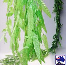 2m 6.5ft Artificial Salix Ivy Leaves Plant Weeping Willow Wedding Vine HVINE0621