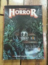 Halls Of Horror: Gothic Floor Plans - Games Workshop miniatures Dungeon RARE!