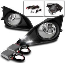 2009-2010 TOYOTA COROLLA CHROME BUMPER DRIVING FOG LIGHTS+BLACK COVER+50W 8K HID
