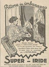 W6948 Super-Iride Arancio - Pittore in imbarazzo - Pubblicità 1925 - Advertising