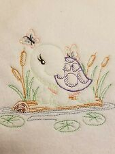 Personalized Embroidery Baby Blanket  Baby Turtle